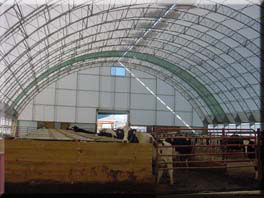 Fabric Building Dairy/Beef Buildings